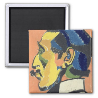 Retrato de Horacio Brodsky (1885-1969) (en colores Imán Cuadrado