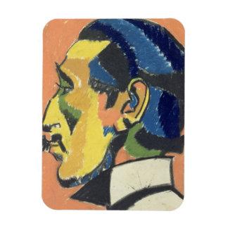 Retrato de Horacio Brodsky (1885-1969) (en colores Imanes Rectangulares