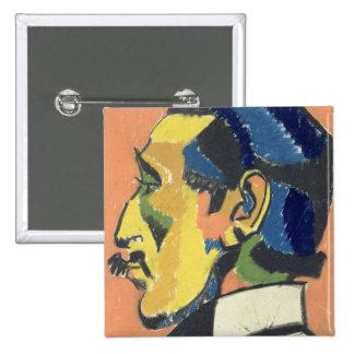 Retrato de Horacio Brodsky (1885-1969) (en colores Pin Cuadrado