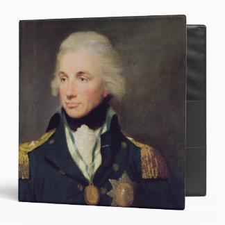 """Retrato de Horatio Nelson, vizconde Nelson Carpeta 1 1/2"""""""