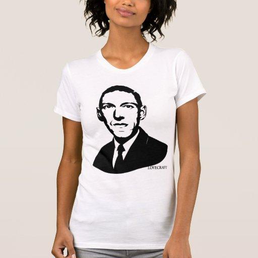 Retrato de HP Lovecraft Camiseta
