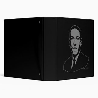 "Retrato de HP Lovecraft Carpeta 1 1/2"""