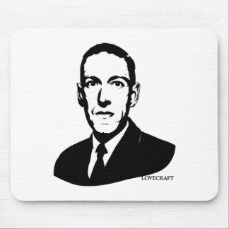 Retrato de HP Lovecraft Tapete De Ratones
