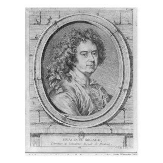 Retrato de Hyacinthe Rigaud, 1752-65 Tarjeta Postal
