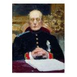 Retrato de Ilya Repin- de Konstantin Pobedonostsev Tarjetas Postales