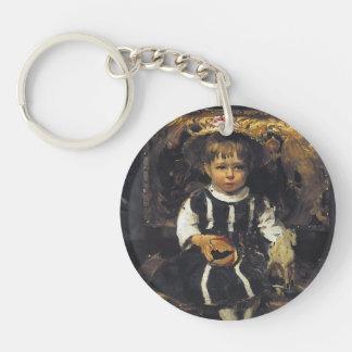Retrato de Ilya Repin- de Vera Repina Llavero