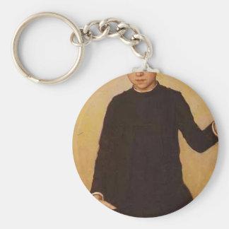 Retrato de Ilya Repin- de Vera Repinahe Llavero Personalizado