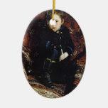 Retrato de Ilya Repin- de Yuriy Repin, el hijo del Ornamento Para Reyes Magos