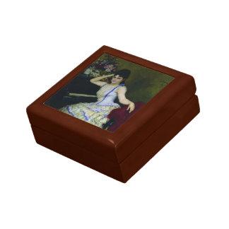 Retrato de Ilya Repin- del pianista y del profesor Cajas De Joyas