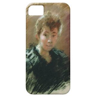 Retrato de Isaac Levitan- de Sofía Kuvshinnikov iPhone 5 Fundas
