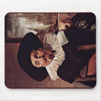 Retrato de Isaac Massa Abrahamsz de Francisco Hals Tapete De Ratones