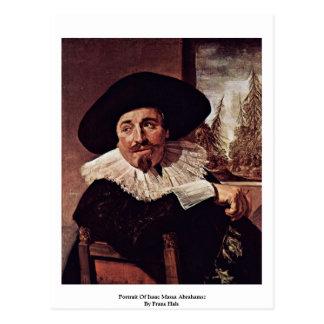 Retrato de Isaac Massa Abrahamsz de Francisco Hals Postales