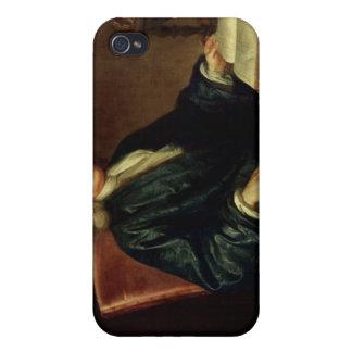 Retrato de Isaac Newton, c.1726 iPhone 4 Carcasa
