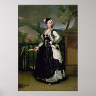 Retrato de Isabel Parrena Arce Póster