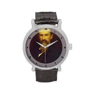 Retrato de Ivan Kramskoy- de Alexander Sokolov Relojes De Mano