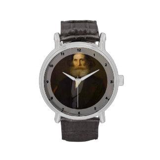 Retrato de Ivan Kramskoy- de Nikolay Bogoliubov Relojes