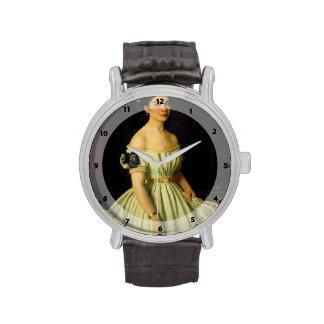 Retrato de Ivan Kramskoy- de princesa Catherine Reloj De Mano