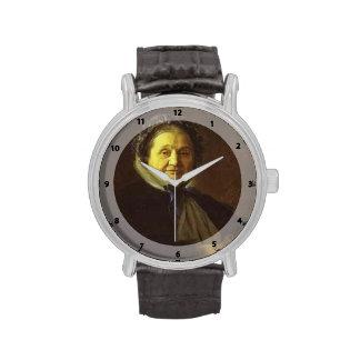 Retrato de Ivan Kramskoy- de V Voyeykova Reloj