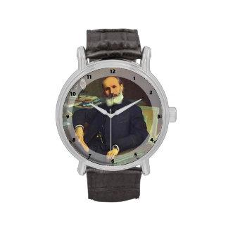 Retrato de Ivan Kramskoy- del crítico Pavel del ar Relojes De Pulsera