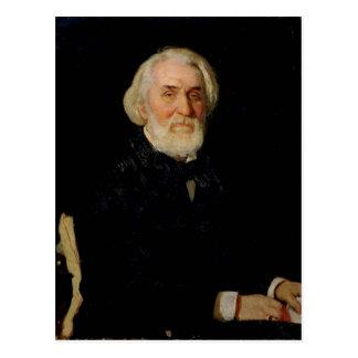 Retrato de Ivan S. Turgenev, 1879 Tarjeta Postal