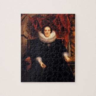 Retrato de Jacob Jordaens- de Catharina Behaghel Rompecabeza
