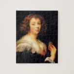 Retrato de Jacob Jordaens- de una señora joven Puzzles