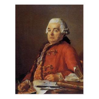 Retrato de Jacques David de Jacques Francois Tarjeta Postal