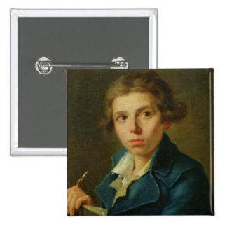 Retrato de Jacques-Louis David como juventud Pins