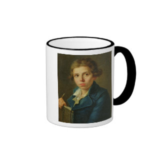 Retrato de Jacques-Louis David como juventud Taza De Café