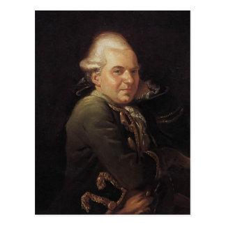 Retrato de Jacques-Louis David de Francois Buron Postales