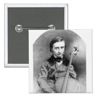 Retrato de Jacques Offenbach 1850 Pins