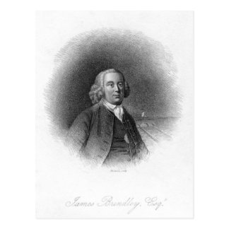 Retrato de James Brindley Postales
