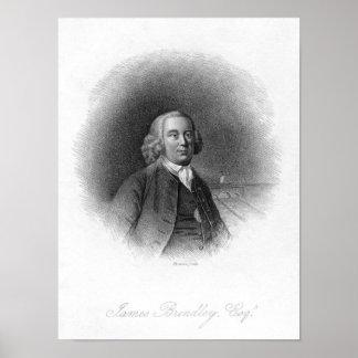 Retrato de James Brindley Póster