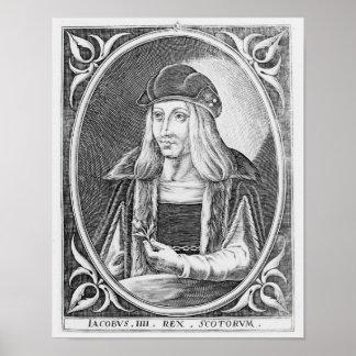 Retrato de James IV de Escocia Póster