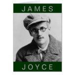 Retrato de James Joyce del vintage Felicitaciones