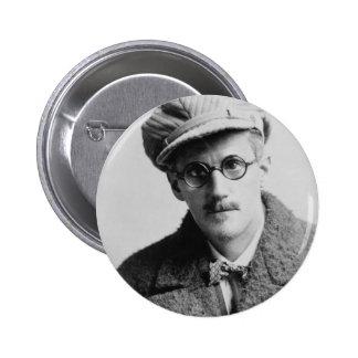 Retrato de James Joyce del vintage Pins