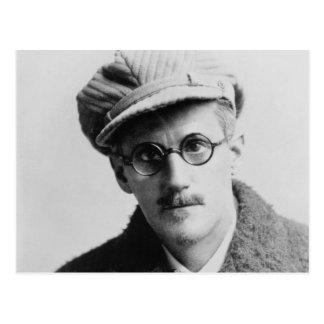 Retrato de James Joyce del vintage Postal