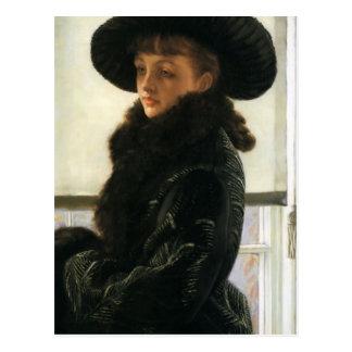 Retrato de James Tissot- de Kathleen Newton Postales