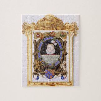 Retrato de James VI de Escocia (1566-1625) más ade Puzzles Con Fotos