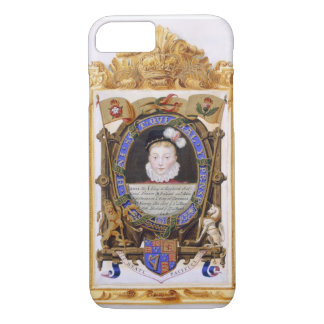 Retrato de James VI de Escocia (1566-1625) más Funda iPhone 7