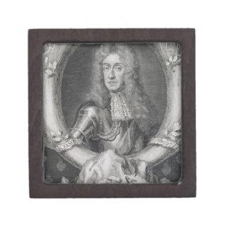 Retrato de James VII de Escocia, II de Inglaterra  Caja De Joyas De Calidad