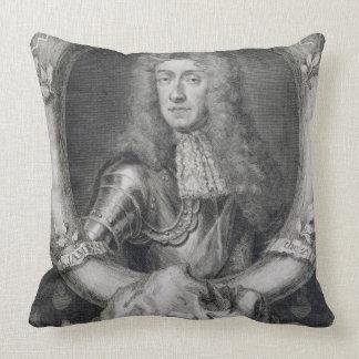Retrato de James VII de Escocia, II de Inglaterra  Cojin