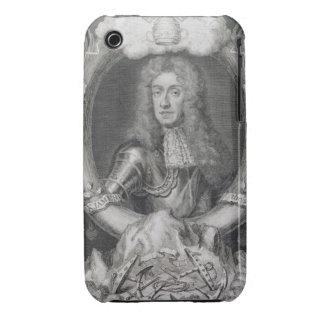 Retrato de James VII de Escocia, II de Inglaterra  Case-Mate iPhone 3 Funda