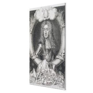 Retrato de James VII de Escocia, II de Inglaterra  Lona Estirada Galerías