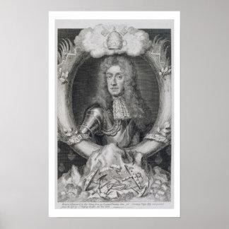 Retrato de James VII de Escocia, II de Inglaterra  Poster