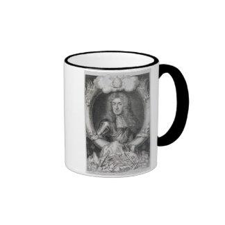 Retrato de James VII de Escocia, II de Inglaterra  Tazas
