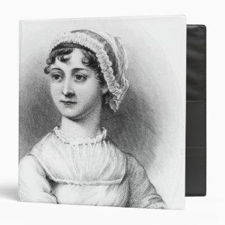 """Retrato de Jane Austen Carpeta 1 1/2"""""""