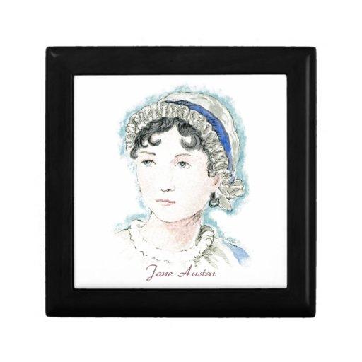 Retrato de Jane Austen de Alicia Flynn Caja De Recuerdo