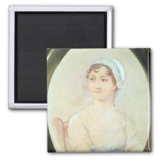 Retrato de Jane Austen Imanes Para Frigoríficos