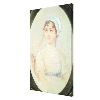 Retrato de Jane Austen Impresión En Lienzo